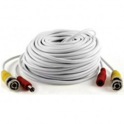 Cantek CT-VP25HD/W-V2 Pre-Made HD Cable - 25 Feet White