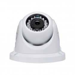 Cantek Plus CTP-TF19TE-W 1080p HD-TVI IR Outdoor Eyeball Camera, 3.6mm, White