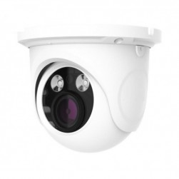 Cantek Plus CTP-TV19ATE-W 1080p HD-TVI/AHD/Analog Outdoor Dome Camera, 2.8-12mm Lens, White
