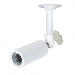 Speco CVC637HW 700 TVL 960H Mini-Bullet Camera, 3.6mm Lens, White