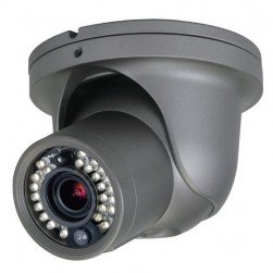 Speco CVC5300DPVF 600 TVL Analog Outdoor IR Dome Camera, 2.8-12mm Lens