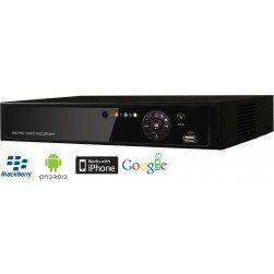 Cantek HK0412-500GB 4 Channel Analog Standalone DVR, 500GB