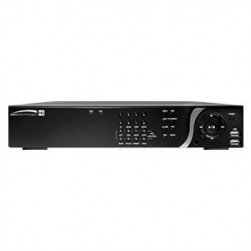 Speco D16HU16TB 16 Channel 4K IP, HD-TVI Hybrid Video Recorder, 16TB