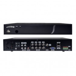 Speco D4VX2TB 4 Channel HD-TVI Digital Video Recorder, 2TB