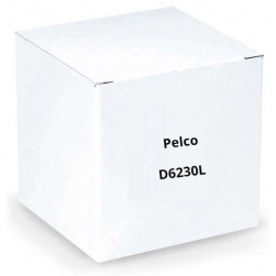 Pelco D6230L Spectra Enhanced IP Dome System Low Latency, 30X, Dome Drive
