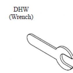 Interlogix DHW Extension Rod Wrenches