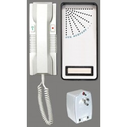 Alpha DPK2W-1C 1-Handset Doorphone Kit-2 Wire