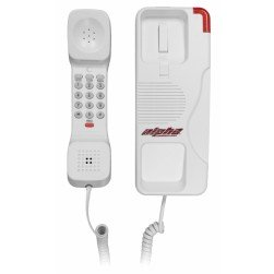 Alpha DPH200W Wall/Desk Telephone with Red Indicator Lamp Bar