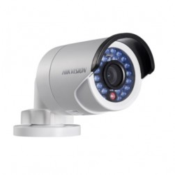 Hikvision DS-2CD2012WD-I-4mm 1.3 Megapixel Outdoor Day/Night Network IR Mini Bullet Camera, 4mm Lens