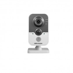 Hikvision DS-2CD2412F-IW-2-8MM 1.3 Megapixel IR Cube Network Camera, 2.8mm Lens