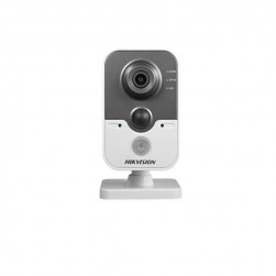 Hikvision DS-2CD2432F-IW-4MM 3 Megapixel IR Cube Network Camera, 4mm Lens