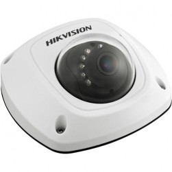 Hikvision DS-2CD2552F-IS-6MM 5 Megapixel CMOS ICR Infrared Network Outdoor Mini Dome Camera, 6mm Lens
