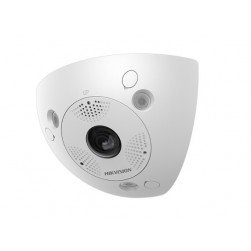 Hikvision DS-2CD6W32FWD-IVSC 3 Megapixel Network Indoor/Outdoor IR Corner Camera, 2mm Lens
