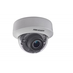 Hikvision DS-2CE56F7T-AITZ HD-AHD IR Dome Camera, 2.8-12mm Lens