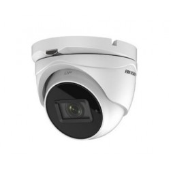 Hikvision DS-2CE56H5T-IT3ZE 5 Megapixel HD-AHD/TVI Outdoor Day/Night Analog IR Dome Camera, 2.8-12mm Lens