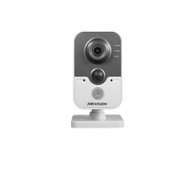 Hikvision DS-2CD2432F-IW-2-8MM 3 Megapixel IR Cube Network Camera, 2.8mm Lens