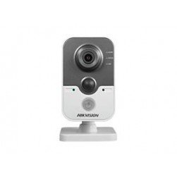 Hikvision DS-2CD2442FWD-IW-4mm 4 Megapixel Day/Night IR Cube Network Camera, WiFi, 4mm Lens