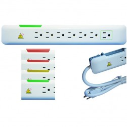 Ditek DTK-7VS 7 Outlet V-Socket Power Strip