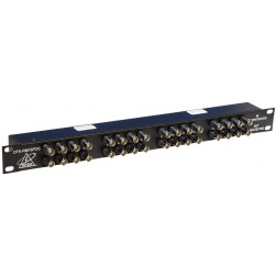 Ditek DTK-RM16POC 16-Ch Rack Mount Power Over Coax Protector