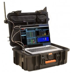 KJB DX100-4 Delta X 100/4 Spectrum Analyzer, 40 kHz - 4400 MHz