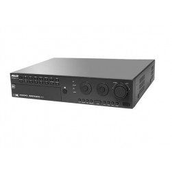 Pelco DX4808HD-4000 Hybrid Digital Video Recorder with 8 Analog & 8 IP Channels with HD Display, 4TB