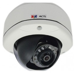 ACTi E77 10Mp Full HD Outdoor IR WDR Network Vandal Dome, 3.6mm
