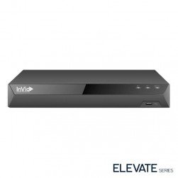 InVid ED2A-8-3TB 8 Channel 4K TVI/AHD/CVI/Analog/IP Universal Port Digital Video Recorder, 3TB