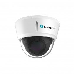 EverFocus EDN468ME 4 Megapixel Network IR Outdoor Dome Camera, 2.8-12mm Lens