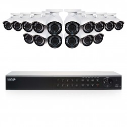 Cantek Plus EF16B4TB 16 Camera HD TVI Bullet Security Camera System