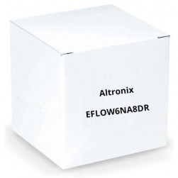 Altronix EFLOW6NA8DR Power Supply / Charger with ACM8CB Red Encl.