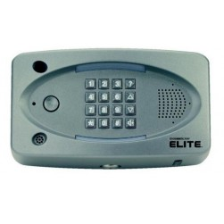 Alpha EL25S Telephone Entry Master-No LCD-Silvr