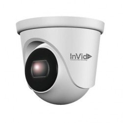 InVid ELEV-C5TXIR28 5 Megapixel TVI/AHD/CVI/CVBS IR Outdoor Dome Camera, 2.8mm Lens