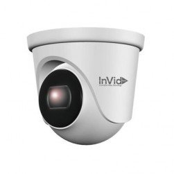 InVid ELEV-P5TXIR28 5 Megapixel IP Plug & Play Outdoor Turret Camera, 82' IR Range, 2.8mm Lens
