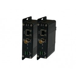 American Fibertek ET1100CPp-T Transmitter of 10/100Base-TX (PoE+) Ethernet Over Coaxial with PoC
