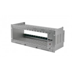 Pelco EURACK Fiber Rack Mounts Chassis for Fiber Optic Modules