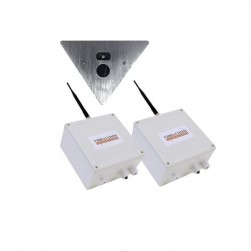 VideoComm EV-L1R2409 2.8mm Vandal Proof Wireless Elevator Video System