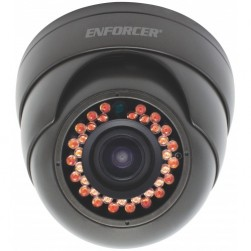 Seco-Larm EV-N2206-NW4Q 2 Megapixel Indoor/Outdoor IR Network Rollerball Camera, 2.8-12mm Lens