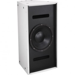 "Bosch EVF-1121S-PIW Single 12"" Front Loaded Fully-Weatherized Bass Element Subwoofer, White"