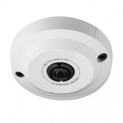 Pelco EVO-05LID 5 Megapixel Evolution Mini 360° Indoor Surface Mount Camera, White