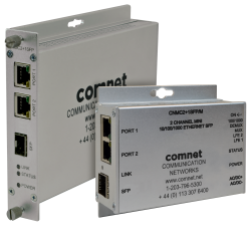 Comnet CNMC2+1SFP/M 2 Channel 10/100/1000 Mbps Ethernet SFP mini unit