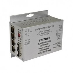 Comnet CNGE4+2SMSPoE/m Intelligent Ring GB Switch with Optional PoE+