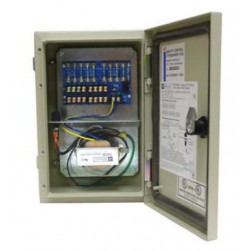 Altronix WPTV248ULCB 8 Output Outdoor-rated Power Supply, 24/28 VAC @ 3.5/3.0 Amp PTC Protected, NEMA 4/IP 65 Cabinet, UL Listed