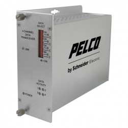 Pelco FRD4M1ST 4 Channel ST Receiver, Multimode