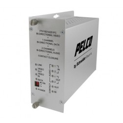 Pelco FRV10D1A2M1ST 1 Channel Bi-Directional Receiver with ST Connector, Multimode