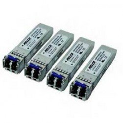 Pelco FSFP-AFSM1LC20 1 Channel Interchangeable FSFP Transmitter with LC & SFP Connector, Single Mode
