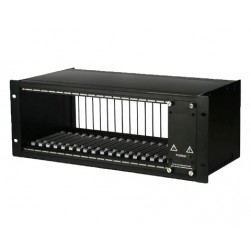"American Fibertek FT-C18 19"" Rack Mount Chassis for FT-Series"