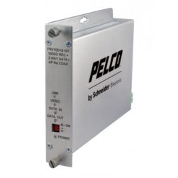 Pelco FTV10D1S1ST 1 Channel ST with Bidirectional Data, Single Mode