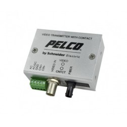Pelco FTV10S1FCM 1 Channel Miniature Fiber Transmitter with FC Connector, Single Mode