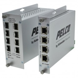 Pelco FUMS-FFX4TX4 4 Port Unmanaged Ethernet Switches