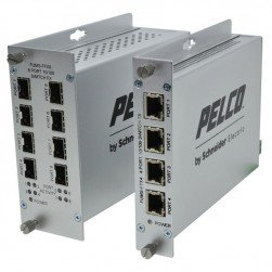 Pelco FUMS-FFX8 8 Port Unmanaged Ethernet Switches